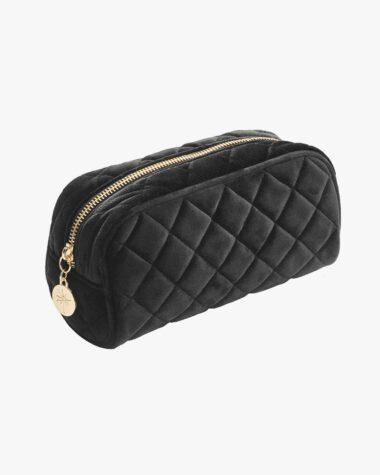 Produktbilde for BeautyBagQuilted Velvet Black Small hos Fredrik & Louisa