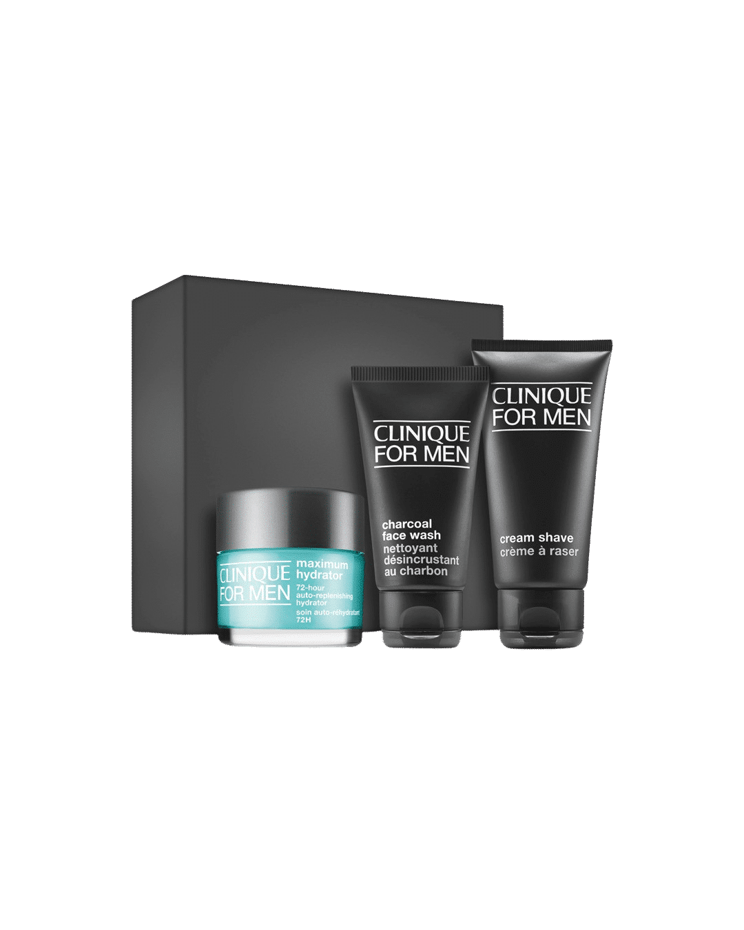 Clinique For Men Extra Dryness Concern + Daily Intense Hydration Set