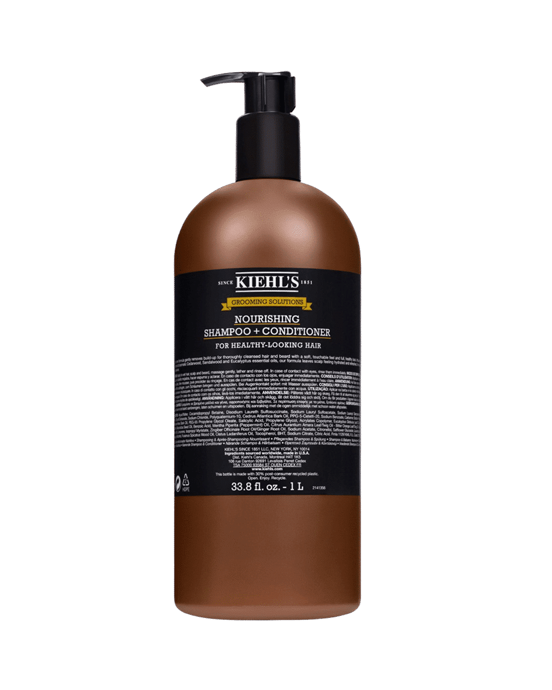 Grooming Solutions Nourishing Shampoo + Conditioner 1000ml