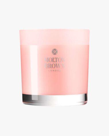 Produktbilde for Delicious Rhubarb & Rose Three Wick Candle hos Fredrik & Louisa